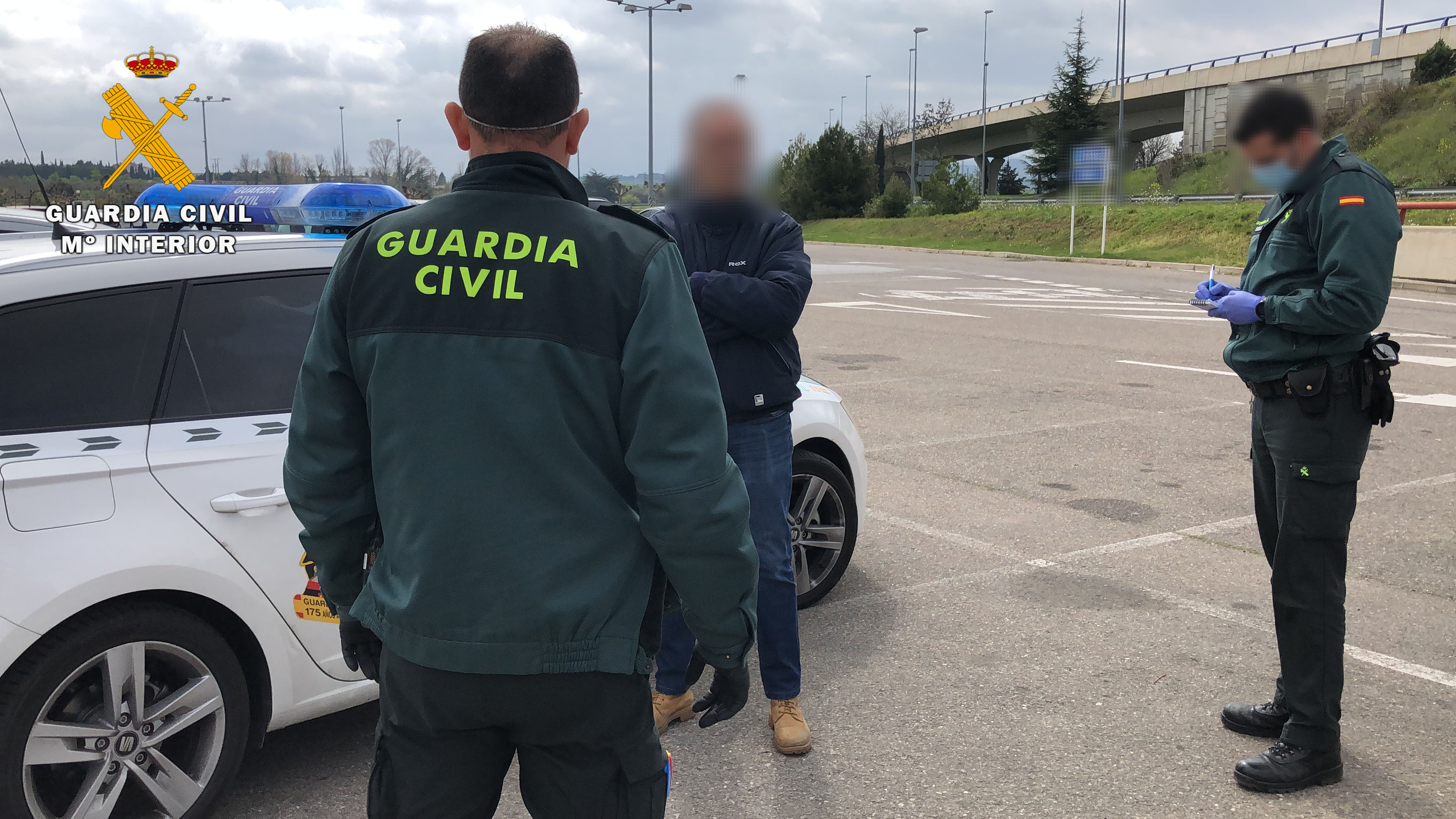 Supermercado La Rioja. FOTO: GUARDIA CIVIL